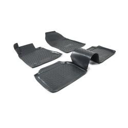MERCEDES BENZ E W210 1995 → 2002 Guminiai kilimėliai 3D aukštais borteliais