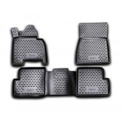 MERCEDES BENZ G W463 2007 → Guminiai kilimėliai 3D aukštais borteliais