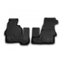 MERCEDES BENZ Sprinter Classic 2013 → Guminiai kilimėliai 3D aukštais borteliais