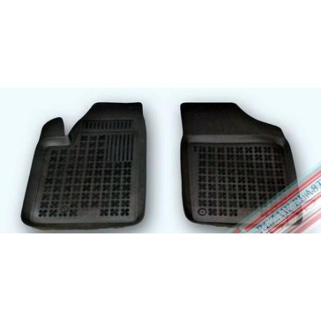 Peugeot Partner I 1997 → 2008 priekiniai Guminiai kilimėliai su loveliu