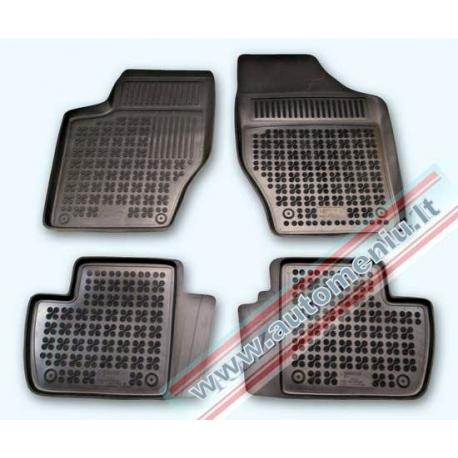 Peugeot 308 2007 → 2013, be vietos gesintuvui Guminiai kilimėliai su loveliu