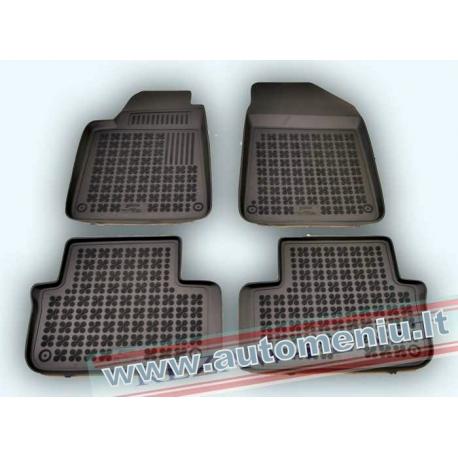 Peugeot 407 2004 → Guminiai kilimėliai su loveliu