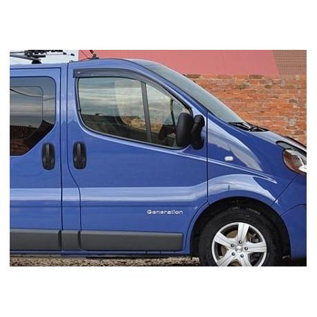 Renault Trafic 2001 → 2014 Langų vėjo deflektoriai priekinėms durims