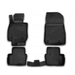MAZDA CX-3 2014 → Guminiai kilimėliai 3D aukštais borteliais