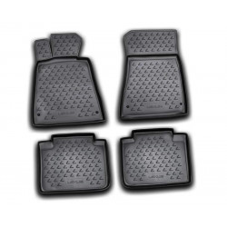LEXUS GS300 2008 → Guminiai kilimėliai 3D aukštais borteliais