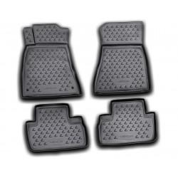 LEXUS IS250 2005 → Guminiai kilimėliai 3D aukštais borteliais