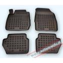 Ford Fiesta VII 2008 → Guminiai kilimėliai su borteliais