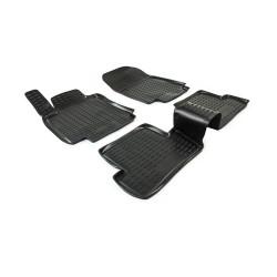 RENAULT Clio III 2005 → 2012 Guminiai kilimėliai 3D aukštais borteliais