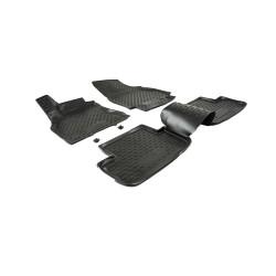 RENAULT Fluence 2010 → Guminiai kilimėliai 3D aukštais borteliais