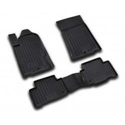 SSANGYONG Rexton 2006 → 2012 Guminiai kilimėliai 3D aukštais borteliais