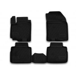 SUZUKI SX4 2013 → Guminiai kilimėliai 3D aukštais borteliais
