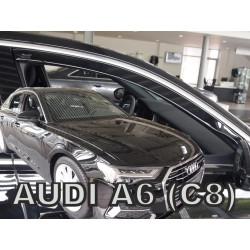 AUDI A6 (C8) 2018 → Langų vėjo deflektoriai priekinėms durims