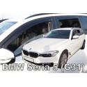 BMW 5 G31 4D 2017 → KARAVANAS (+OT) langų vėjo deflektoriai keturioms durims