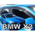 BMW X2 F39 5D 2018 → (+OT) langų vėjo deflektoriai keturioms durims