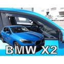 BMW X2 F39 5D 2018 → Langų vėjo deflektoriai priekinėms durims