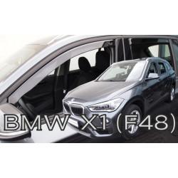 BMW X1 F48 5D 2015 → (+OT) langų vėjo deflektoriai keturioms durims automeniu.lt