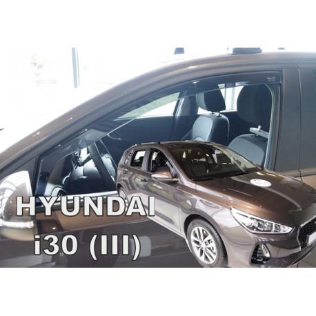 HYUNDAI i30 III 2017 → HTB/CW Langų vėjo deflektoriai priekinėms durims