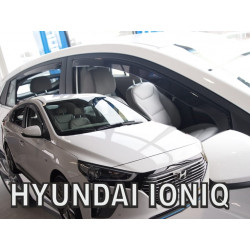HYUNDAI IONIQ 2017 → (+OT) langų vėjo deflektoriai keturioms durims