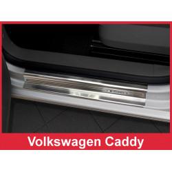 Volkswagen Caddy 2003 → 2016 SLENKSCIU CHROMUOTA APSAUGA