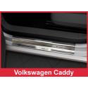 Volkswagen Caddy 2003 → 2016 SLENKSČIŲ CHROMUOTA APSAUGA