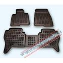 Mitsubishi Pajero 2002 → 2006 Guminiai kilimėliai su borteliais