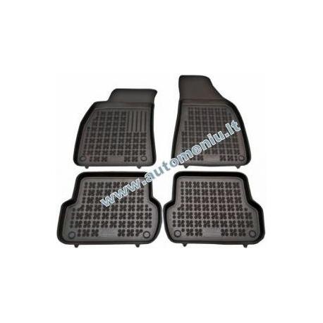 Mazda 2 2006 → be vietos gesintuvui Guminiai kilimėliai su borteliais