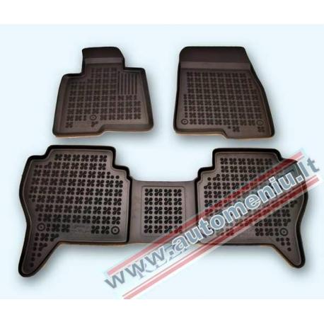 Mitsubishi Montero III 1999 → 2006 Guminiai kilimėliai su borteliais