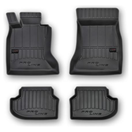 BMW SERIES 5 VI F10 2010 → 2017 Guminiai kilimėliai aukštais borteliais ProLine 3D