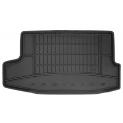 NISSAN JUKE 2014 → Guminis bagažinės kilimėlis aukštais borteliais ProLine 3D