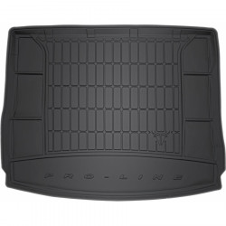VOLKSWAGEN TIGUAN II 2015 → Guminis bagažinės kilimėlis aukštais borteliais ProLine 3D