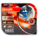 OSRAM automobilių lemputės 55W 12V H7 NIGHT BREAKER LASER +150%