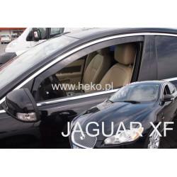 JAGUAR XF I X250 2007 → 2015 langų vėjo deflektoriai priekinėms durims