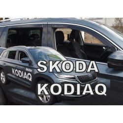 SKODA Kodiaq 2016 → Langų deflektoriai keturioms durims