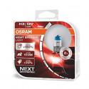OSRAM automobilių lemputės 55W 12V H3 NIGHT BREAKER LASER +150%