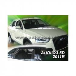 AUDI Q3 5 durų 2011 → 2018 (+OT) Langų vėjo deflektoriai keturioms