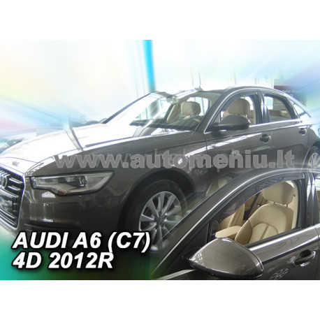 AUDI A6 (C7) 2011 → 2018 (+OT) Sedanas Langų vėjo deflektoriai keturioms durims