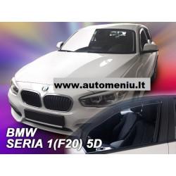 BMW 1 F20 5 durų 2011 → 2019 Langų vėjo deflektoriai priekinėms durims