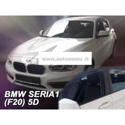 BMW 1 F20 5 durų 2011 → 2019 (+OT) Langų vėjo deflektoriai keturioms durims