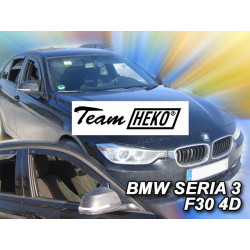 BMW 3 F30 4 durų 2012 → Langų vėjo deflektoriai priekinėms durims