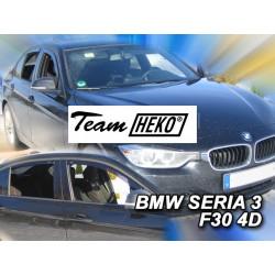 BMW 3 F30 4 durų 2012 → 2018 Sedanas (+OT) Langų vėjo deflektoriai keturioms durims