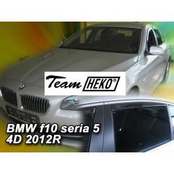 BMW 5 F10 4 durų 2010 →(+OT) Langų vėjo deflektoriai keturioms durims