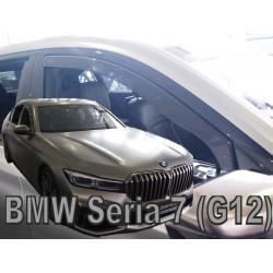 BMW 7 G11/G12 4D 2015 → langų vėjo deflektoriai priekinėms durims