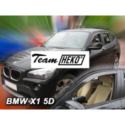 BMW X1 5 durų 2009 → 2016 Langų vėjo deflektoriai priekinėms durims