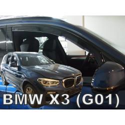 BMW X3 (G01) 2017 → Langų vėjo deflektoriai priekinėms durims