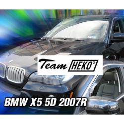 BMW X5 E70 5durų 2006 → 2013 Langų vėjo deflektoriai priekinėms durims
