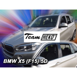 BMW X5 F15 5 durų 2013 → (+OT) Langų vėjo deflektoriai keturioms durims