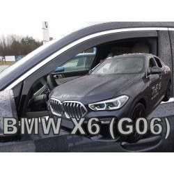 BMW X6 2019 → Langų vėjo deflektoriai priekinėms durims