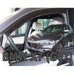 BMW X7 2019 → Langų vėjo deflektoriai priekinėms durims