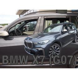 BMW X7 G07 5durų 2018 → (+OT Langų vėjo deflektoriai keturioms durims