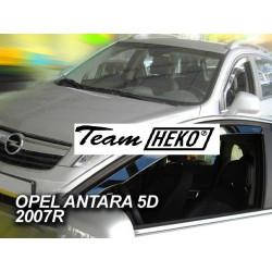 OPEL ANTARA 5 durų 2007 → Langų vėjo deflektoriai priekinėms durims